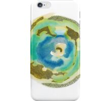 Not Quite Earth Abstract Map iPhone Case/Skin