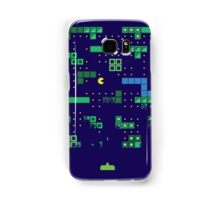 Blockade of the Pac-Man Invaders in the Tetris Dimension! Samsung Galaxy Case/Skin