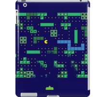 Blockade of the Pac-Man Invaders in the Tetris Dimension! iPad Case/Skin