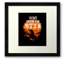 Views from The Styx Framed Print