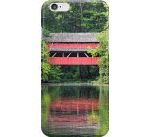 Red Bridge Reflection iPhone Case/Skin