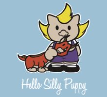 Hello Silly Puppy Kids Tee