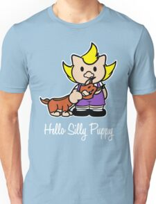 Hello Silly Puppy Unisex T-Shirt