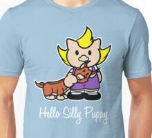 Hello Silly Puppy Unisex T-Shirt