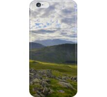 The Lake District: Middle Fell iPhone Case/Skin