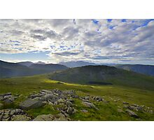 The Lake District: Middle Fell Photographic Print