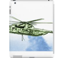 CH-53G Flying with Powerful Force iPad Case/Skin