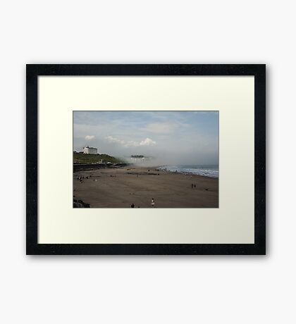 Scarborough Sea Fret 2 Framed Print