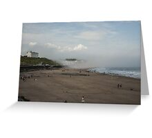 Scarborough Sea Fret 2 Greeting Card