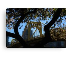 9th Street Bridge Canvas Print