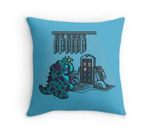 Doctor Sulley Throw Pillow