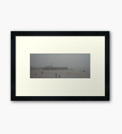 Scarborough Sea Fret Framed Print