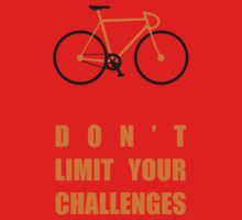 Dont Limit Your Challenges Corporate Start-up Quotes One Piece - Short Sleeve
