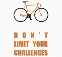 Dont Limit Your Challenges Corporate Start-up Quotes One Piece - Long Sleeve