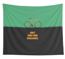 Dont Limit Your Challenges Corporate Start-up Quotes Wall Tapestry