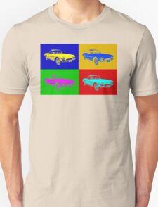 1962 Chevrolet Corvette Convertible Pop Art T-Shirt