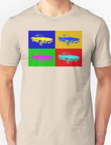 1962 Chevrolet Corvette Convertible Pop Art T-Shirt