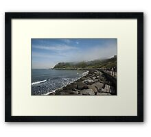 Scarborough North Bay Framed Print