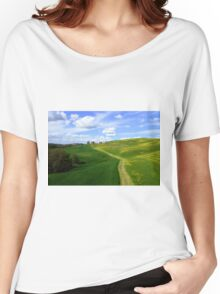Tuscany landscapes  Women's Relaxed Fit T-Shirt
