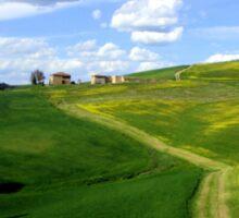 Tuscany landscapes  Sticker