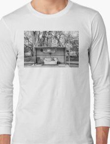 Everton Bus Shelter Long Sleeve T-Shirt
