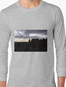 Silhouette of the Stone Elephant Long Sleeve T-Shirt