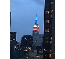 July 4th Empire State Building Photographic Print