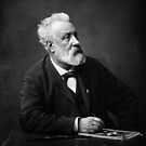 Jules Verne - Father of Science Fiction by warishellstore