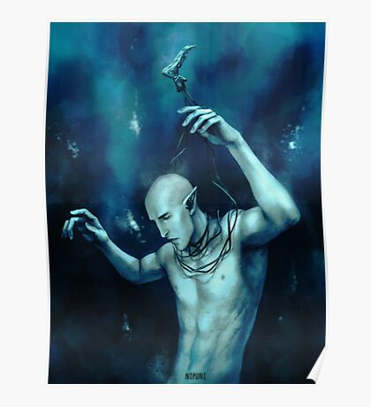 Oceans so deep, he will drown in his sleep Poster