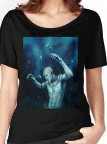 Oceans so deep, he will drown in his sleep Women's Relaxed Fit T-Shirt