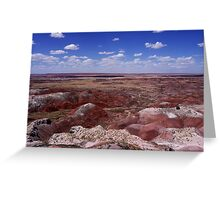 The Painted Desert, Nature's Masterpiece Greeting Card