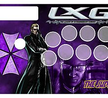 Fight Stick Template - Albert Wesker by Gabriel Gutierrez