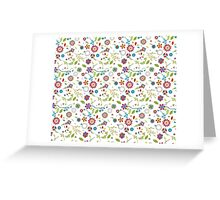 Retro Girl Will Be Retro Forever Greeting Card