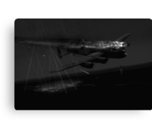 Layne's Lancaster black and white version Canvas Print