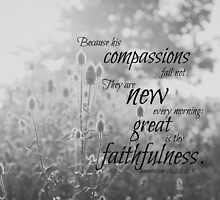 Lamentations 3 Compassions by Kimberose