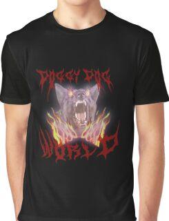 Doggy Dog World Metal Band Graphic T-Shirt