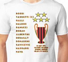 AC Milan 1994 Champions League Final Winners Unisex T-Shirt