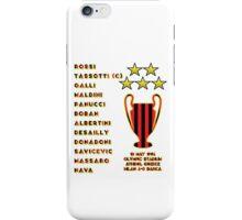AC Milan 1994 Champions League Final Winners iPhone Case/Skin