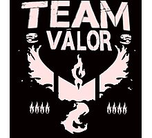 Pokemon Go #TeamValor #ValorClub (Bullet Club and #TheClub inspired) Photographic Print