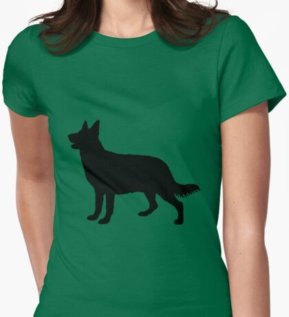 Hund, Dog, Chien, Perro, Cane, Hond Womens Fitted T-Shirt