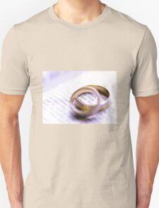 Wedding rings , I love you T-Shirt