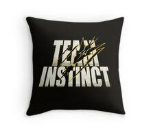 Pokemon Go #TeamInstinct Instincts Del Mal (Perros Del Mal inspired) Throw Pillow