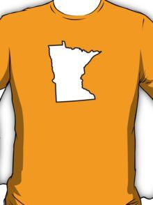 Minnesota State Outline T-Shirt