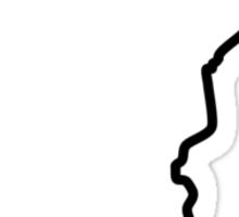 Minnesota State Outline Sticker