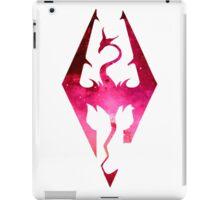Skyrim Logo - Pink iPad Case/Skin