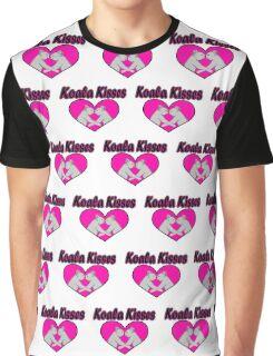 Koala Kisses Pattern Graphic T-Shirt