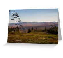 Southward view - Gore Mtn. Greeting Card
