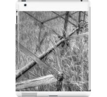 Antique Binder in monochrome iPad Case/Skin
