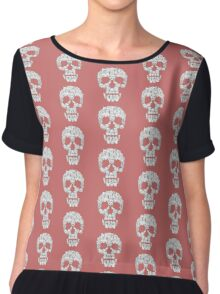 Skulls are for Pussies Chiffon Top