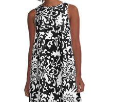 Black Summer  A-Line Dress